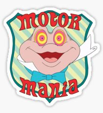 Mr. Toad - Motor Mania Sticker