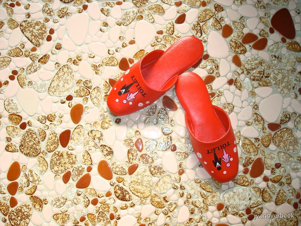 red slippers by jvanoverbeek