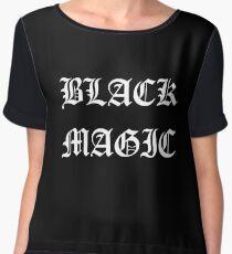 Black Magic Chiffon Top