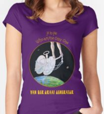 Van der Graaf Generator - H to He Who Am the Only One Women's Fitted Scoop T-Shirt