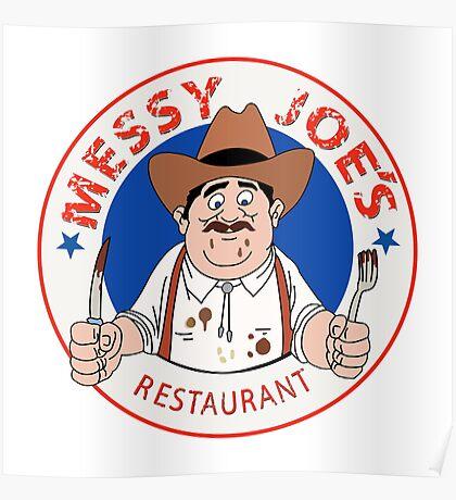 Messy Joe's Restaurant - The IT Crowd Poster