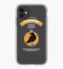 Karasuno Crest (light) iPhone Case