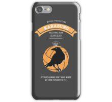 Karasuno Crest (light) iPhone Case/Skin