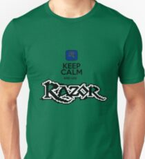 keep calm and use razor T-Shirt