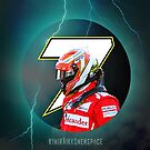 Kimi Raikkonen 7 - Phone Case 2015 - by evenstarsaima