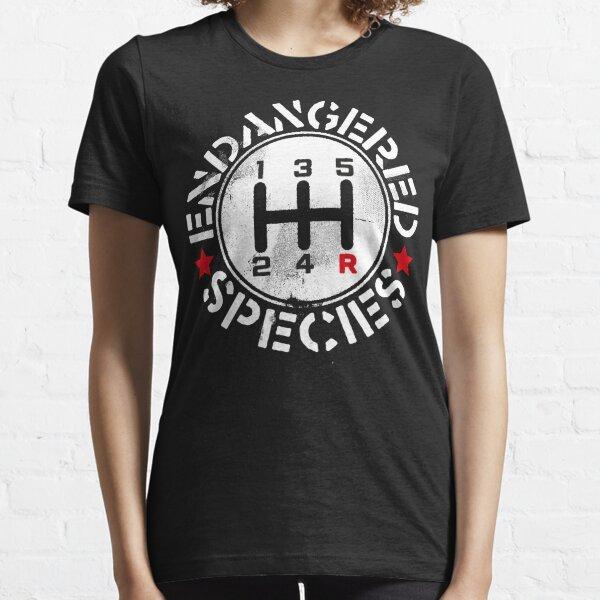 Manual Transmission Endangered Species Essential T-Shirt