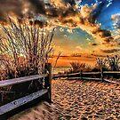 Sun Sets on the Merb by Riggzy