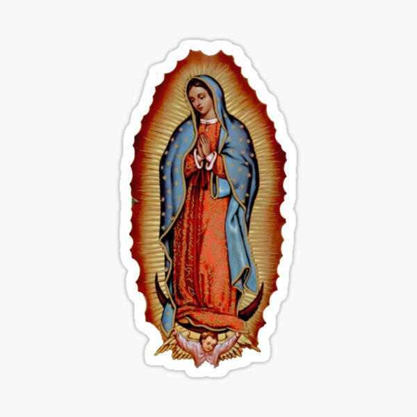 Virgen de guadalupe Pegatina