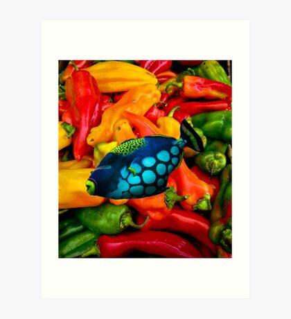 pepper pond Art Print
