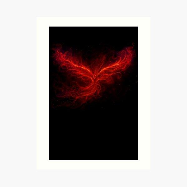The Phoenix Rise Art Print