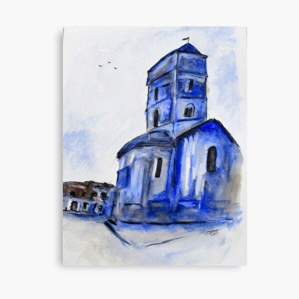 Once A Church Canvas Print