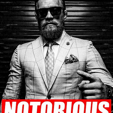 conor a notorious men by bennyajacobs