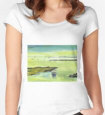 The Boat 2 Women's Fitted Scoop T-Shirt