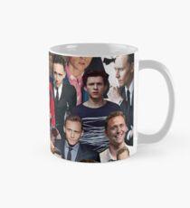 Tom Hiddleston and Holand Collage  Mug
