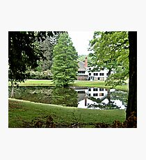 The White Barn at Ringwood Manor Photographic Print