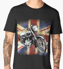Classic BSA Motorcycle by Patjila Men's Premium T-Shirt