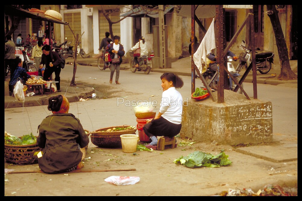 In the street, Hanoï, Vietnam, 1995 by Pascale Baud