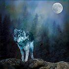 Lone Wolf Moon by Brian Tarr