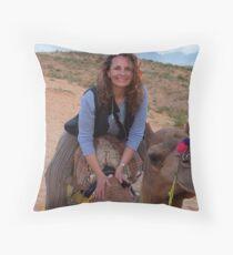Krishna Takes Me For A Ride! Throw Pillow