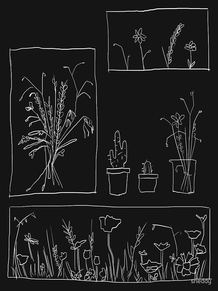 wildflowers by sneddy