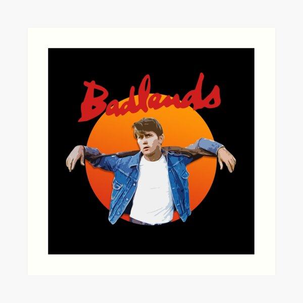 Badlands - Martin Sheen Art Print