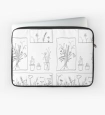 wildflowers illustrated print Laptop Sleeve