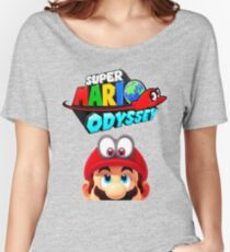 Mario Odyssey Women's Relaxed Fit T-Shirt