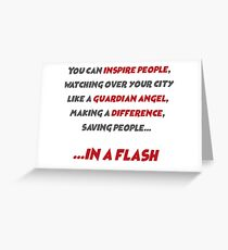 You can inspire People- Arrow,Flash Greeting Card