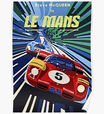 Poster Le Mans Poster