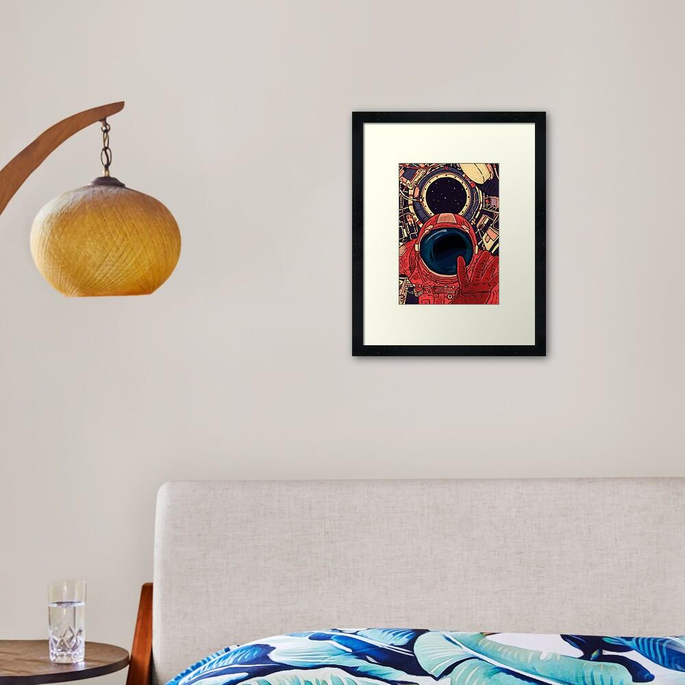 Intergalactic Framed Art Print