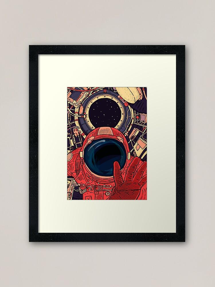 Alternate view of  Intergalactic Framed Art Print