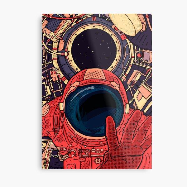 Intergalactic Metal Print