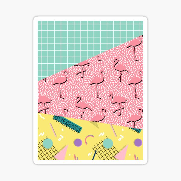 Dreaming 80s #redbubble #decor #buyart Sticker