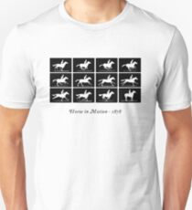 Horse in Motion (Black) T-Shirt