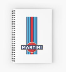 Martini Racing Spiral Notebook
