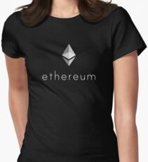 Ethereum Logo Women's Fitted T-Shirt