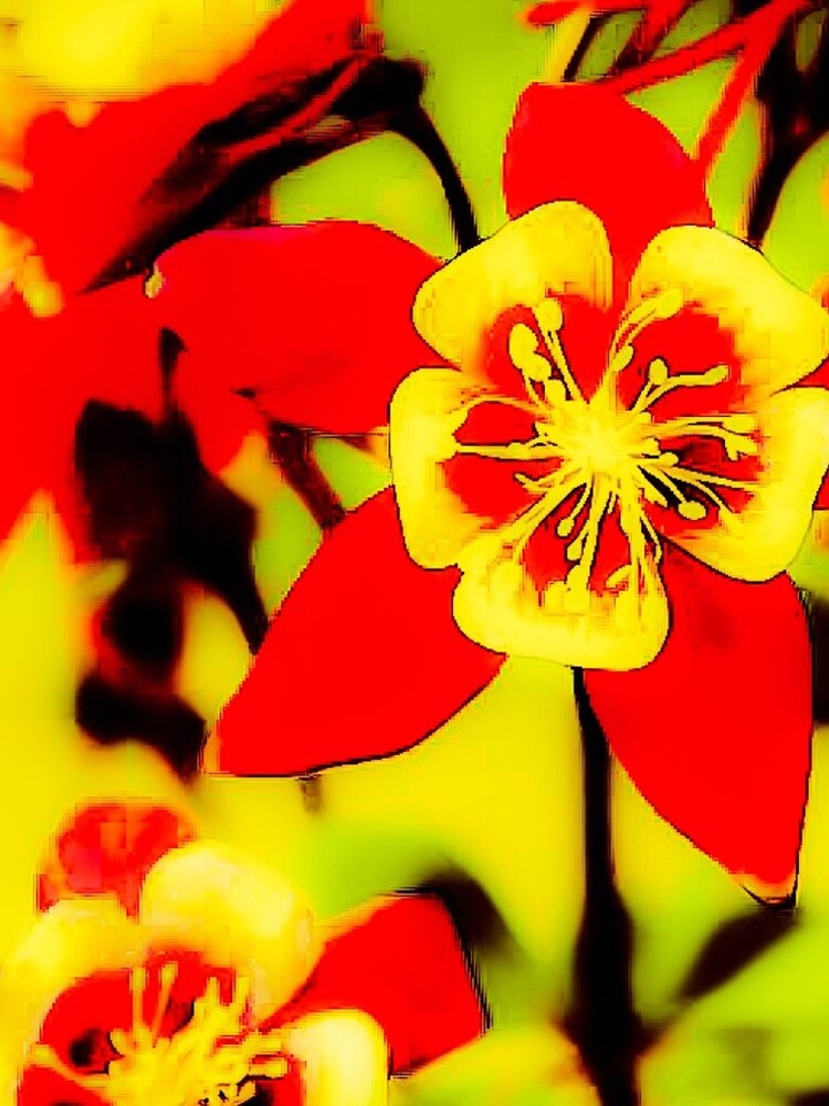 Pila Fashion Design - Red and Yellow by HawaiiArthst