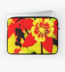 Pila Fashion Design - Red and Yellow Laptop Sleeve