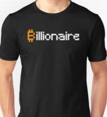 Bitcoin Billionaire (White) T-Shirt