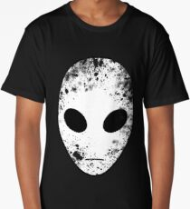 Alien Head Long T-Shirt
