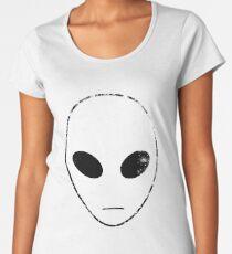 Alien Head Women's Premium T-Shirt