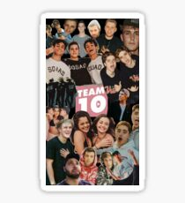 [highest quality] [Cheapest] TEAM 10 COLLAGE! Sticker