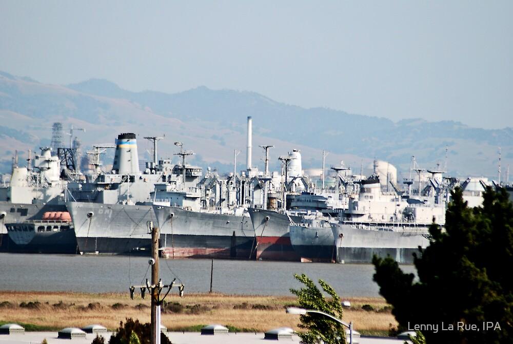 The Suisun Bay Reserve Fleet, or Mothball Fleet 2 by Lenny La Rue, IPA