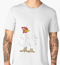 Guess What? Chicken Butt!! Men's Premium T-Shirt