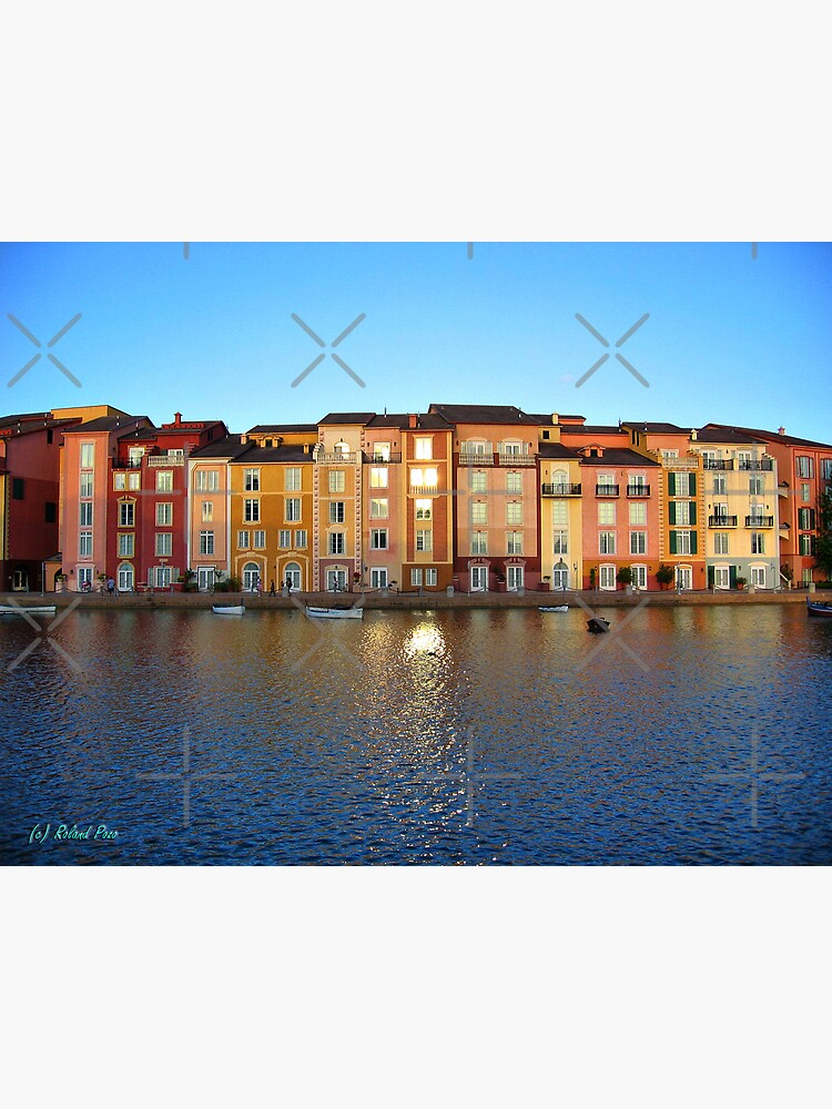 Sunset in Portofino Bay by photorolandi
