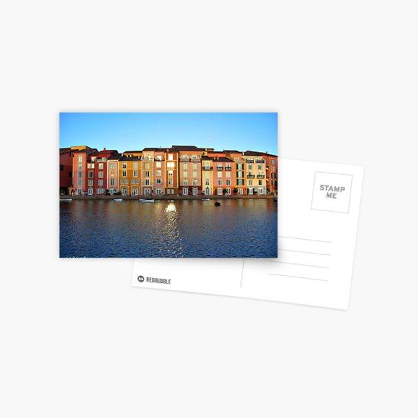 Sunset in Portofino Bay Postcard