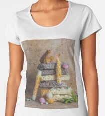 Walking around the Asian Market with Irvin Penn whispering in my ear.   Women's Premium T-Shirt