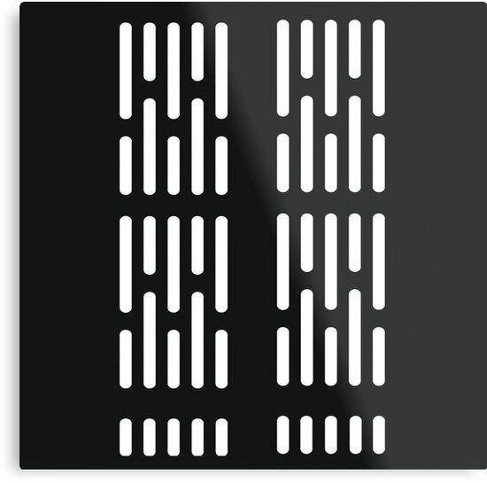Star Wars Imperial Corridor Pattern Metal Prints By Huntpopculture Mesmerizing Star Wars Pattern