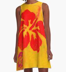 Pila Fashion Design - Hibiscus A-Line Dress