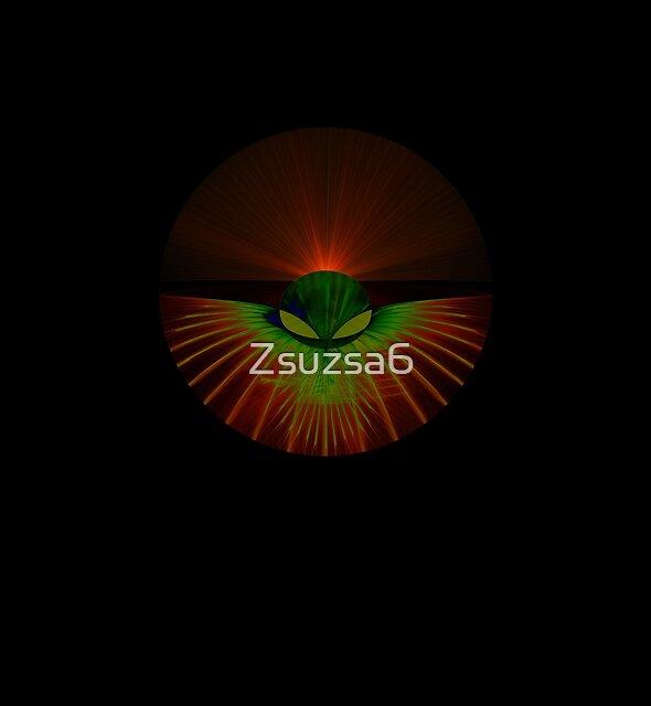 Alien 0003 grün von Zsuzsa6